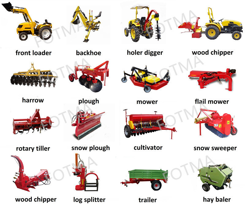 5 agricultural implements