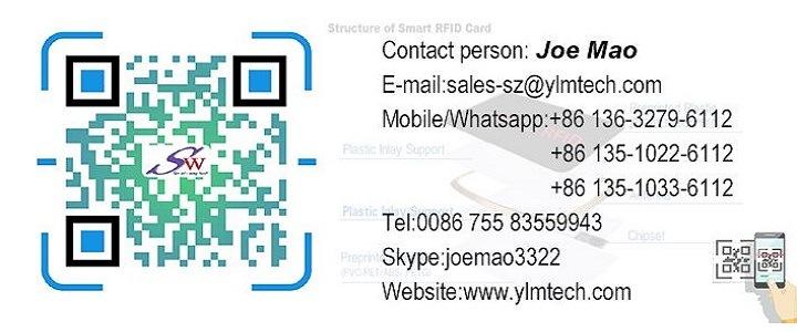 Printable Logo 13 56MHz Passive RFID Tag for Tracking