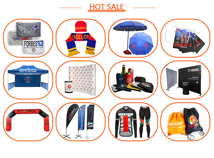 Manufacturer Portable Wall Tension Fabric Trade Show Pop up Display
