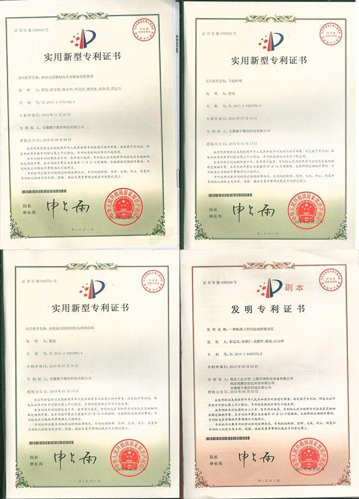 China Ay3018u 6000psi De 5 Ejes De Chorro De Agua Cnc