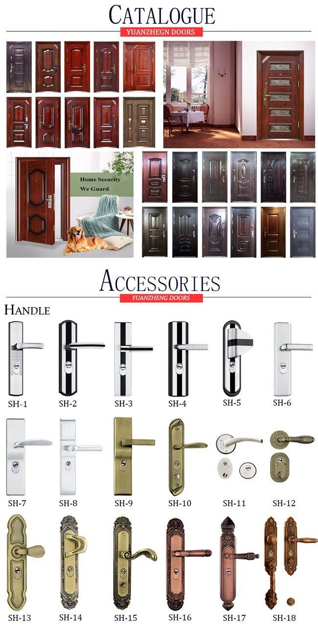 China Supplier Stainless Steel Single Door Design Iron Door Designs on