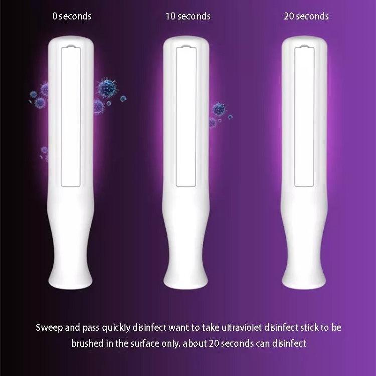 Handheld Portable Wand Mini UV-C Sterilization Bactericidal Germicidal Disinfection LED Light UV Sterilizer Lamp