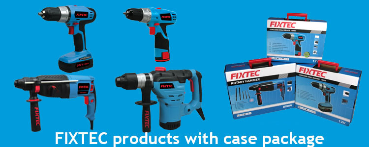 Fixtec Power Tool Hand Tool 850W 26mm Rotary Hammer (FRH85001)