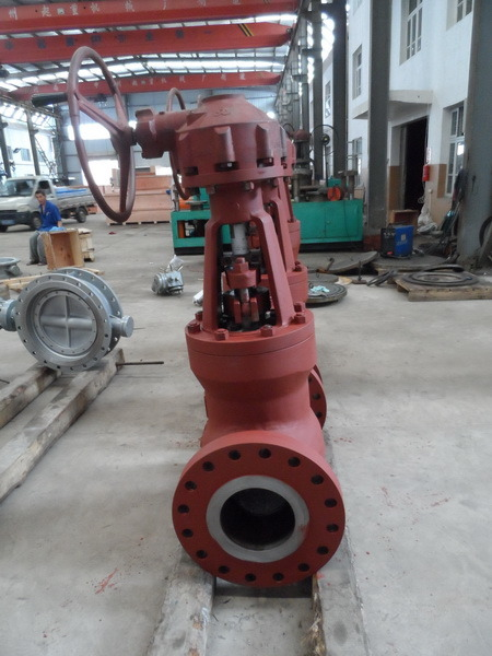 10'' 900# Globe Valve High Pressure Globe Valve with Hand-Wheel Operated