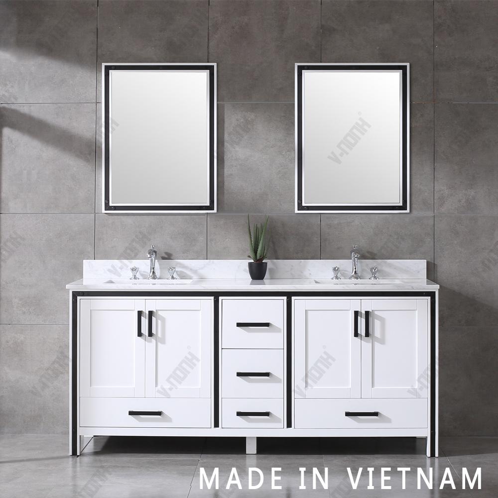 Vietnam Whole Double Sinks, Bathroom Double Sinks