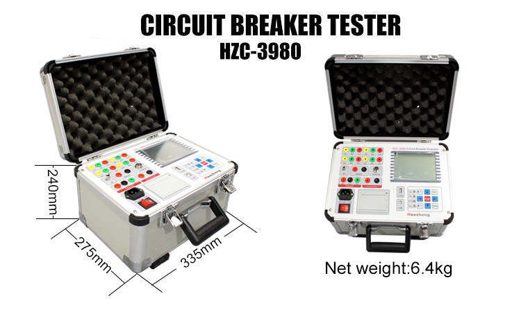IEC62271 CB High Voltage Switch Dynamic Characteristics Circuit Breaker Analyser