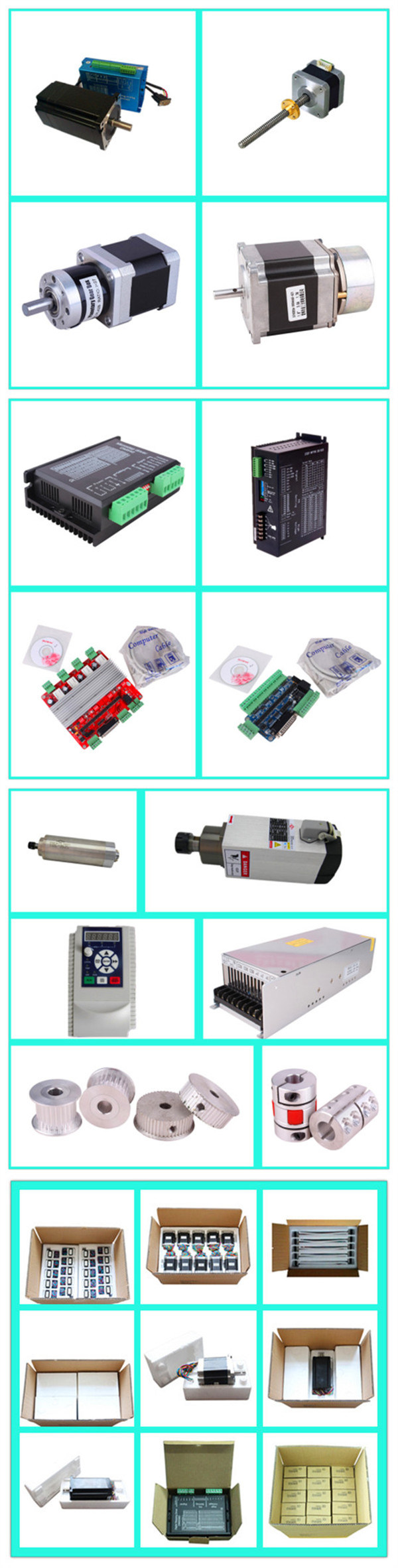 Nema 17 Stepper Step Motor Bipolar 4 Wires China Wiring Diagram For All The Motors And Closed Loop Drivers We Also Have Accessories Such As Power Supplys Spindles Inverters Breakout Board