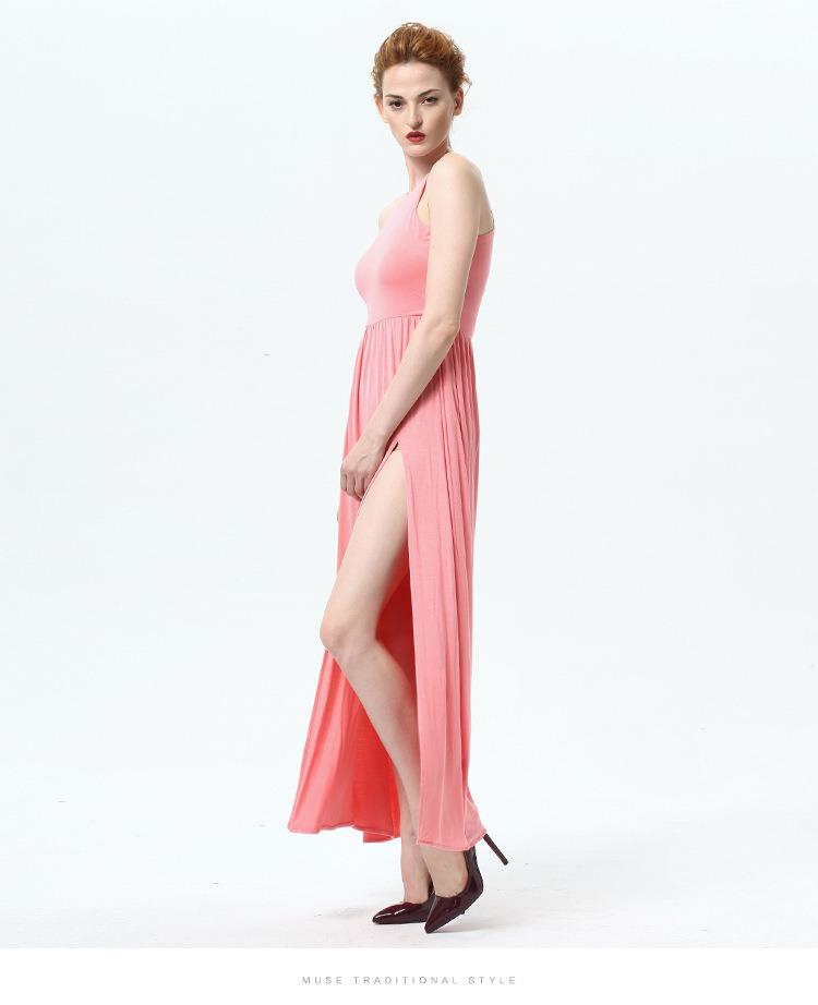 La moda de verano Nuevo cabestro vestido de mujer sexy Bustier Falda ...