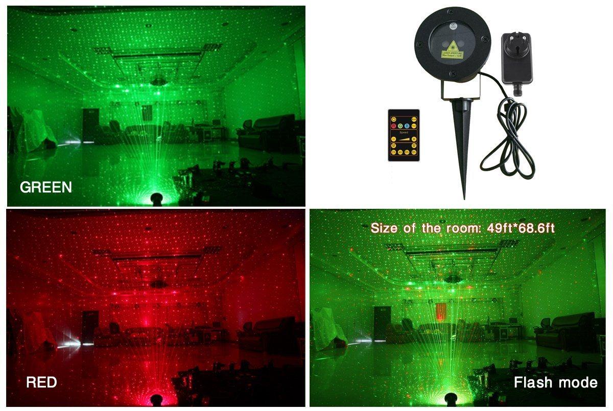 Indoor Outdoor Waterproof Laser Christmas