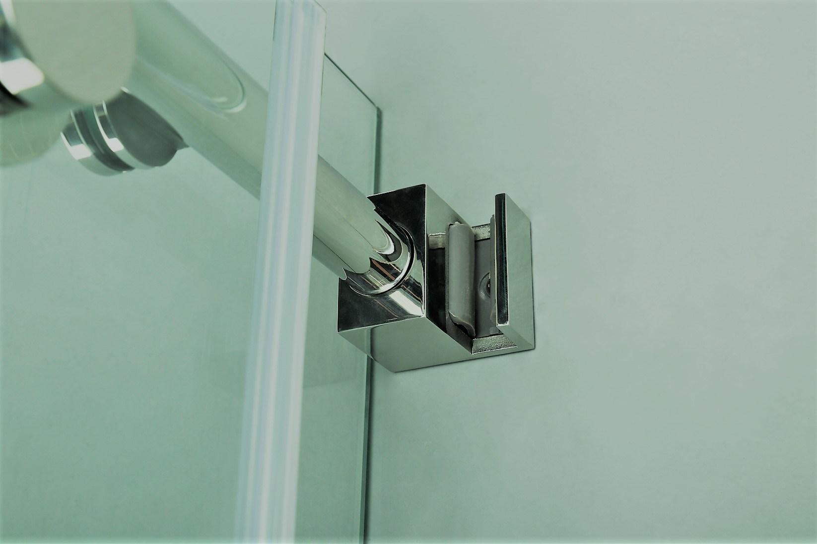 Smart Expo - Na-04 Frameless Round Sliding Rod Shower Enclosure at ...