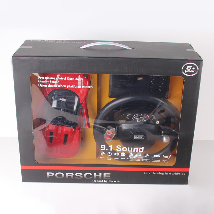 [Hot Item] New RC Toys 1: 14 4CH Gravity Steering Wheel Remote Control Car  with Pedal