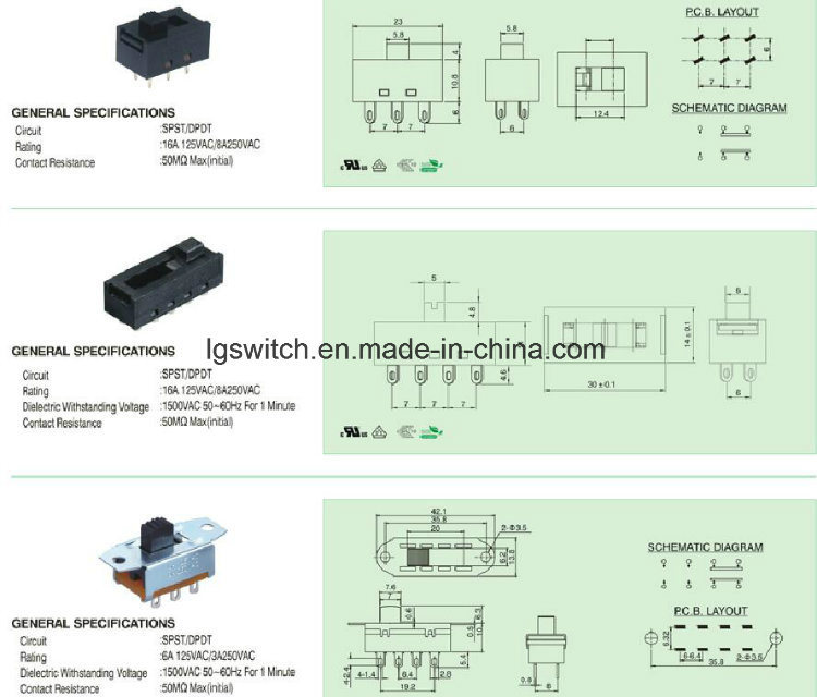 6 Pin Slide Switch Wiring Diagram from image.made-in-china.com