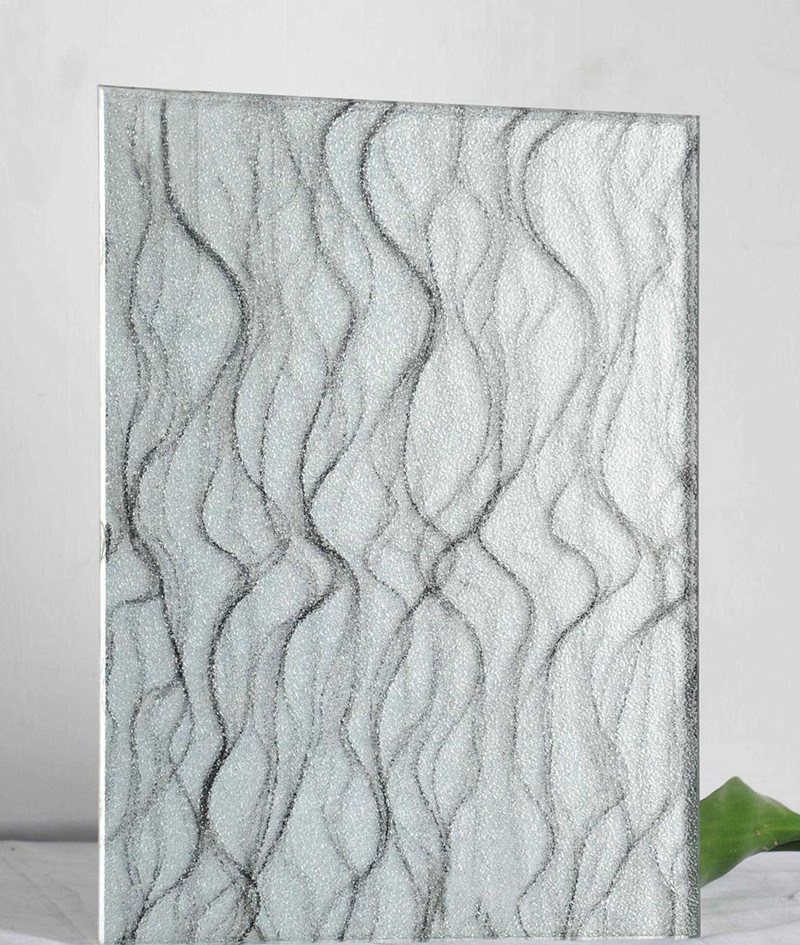 Attractive Price Fabric Laminated Wire Glass with Unique Style ...