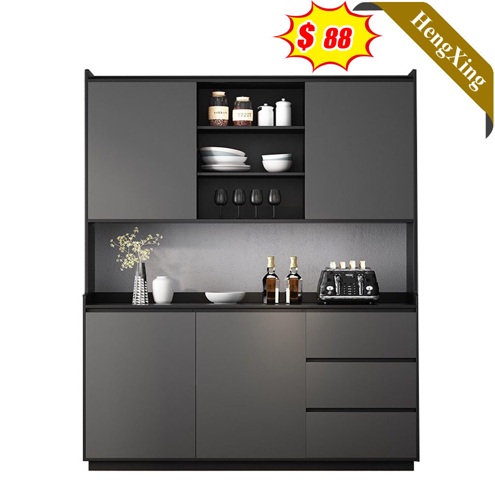 Chinese Wooden Melamine Laminated Wine Storage Cabinet Sideboard Home Living Room Kitchen Dining Furniture China Dining Furniture Modern Furniture Made In China Com
