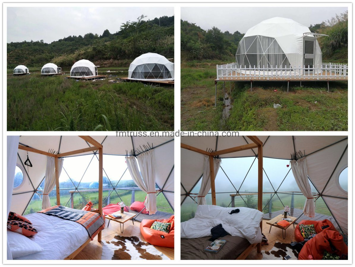 Factory Price Luxury Hotel Camping Resort House Tents