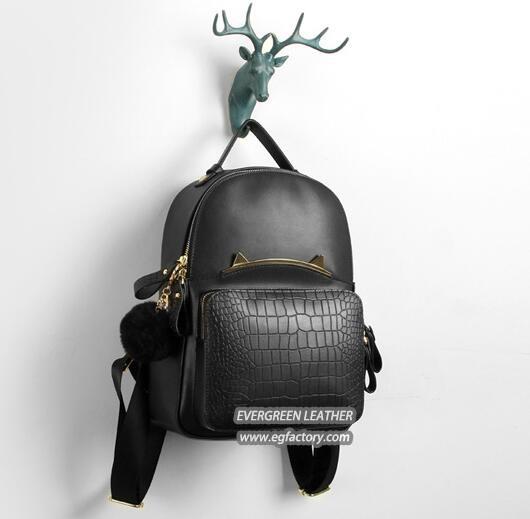 Children School Bag Fashion Trvalling Bags Trendy Backpack Genuine ... 0e9c9d0d6bae1