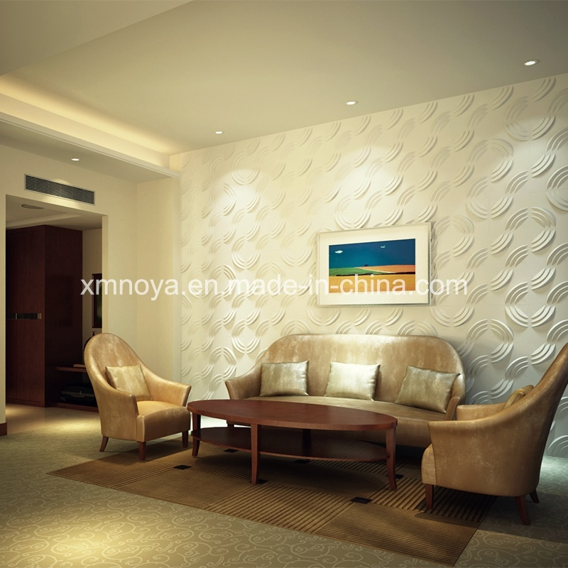 SGS PVC 3D Wall Panel for Living Room TV Background - China 3D Board ...