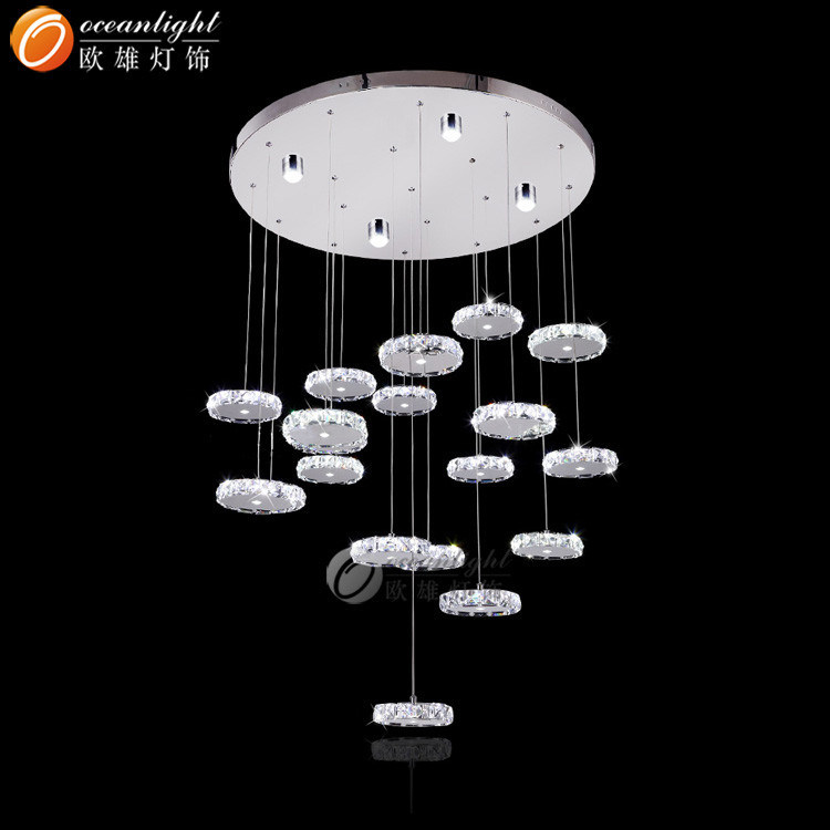 led moderne kristallen indian pendant verlichting lampen. Black Bedroom Furniture Sets. Home Design Ideas
