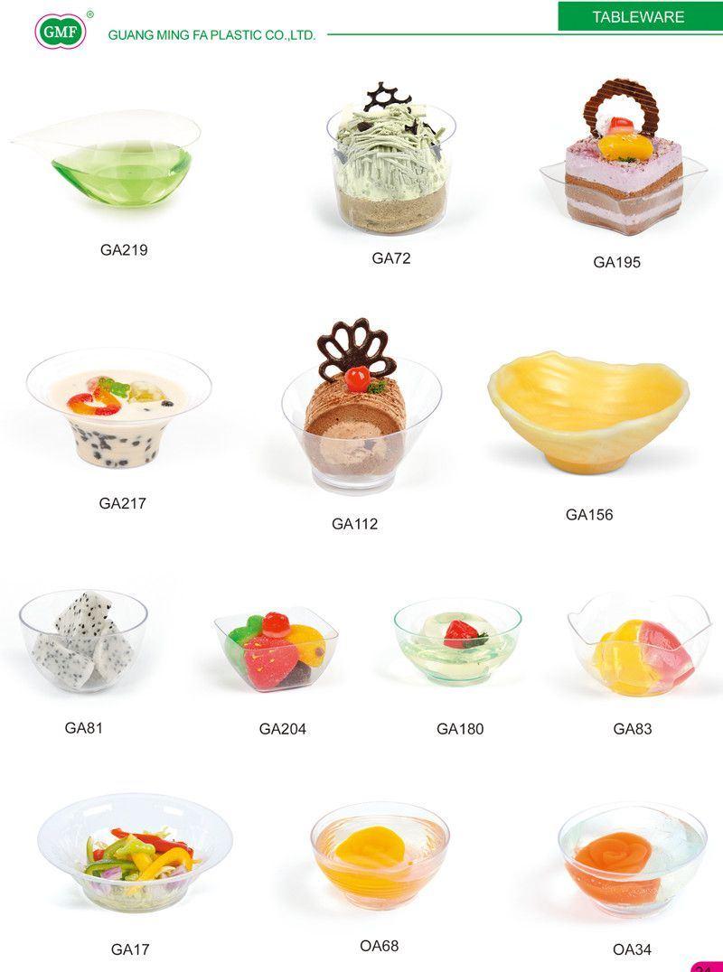 Cuenco de helado de pl stico bowl con tapa de vajilla - Vajilla de diario ...