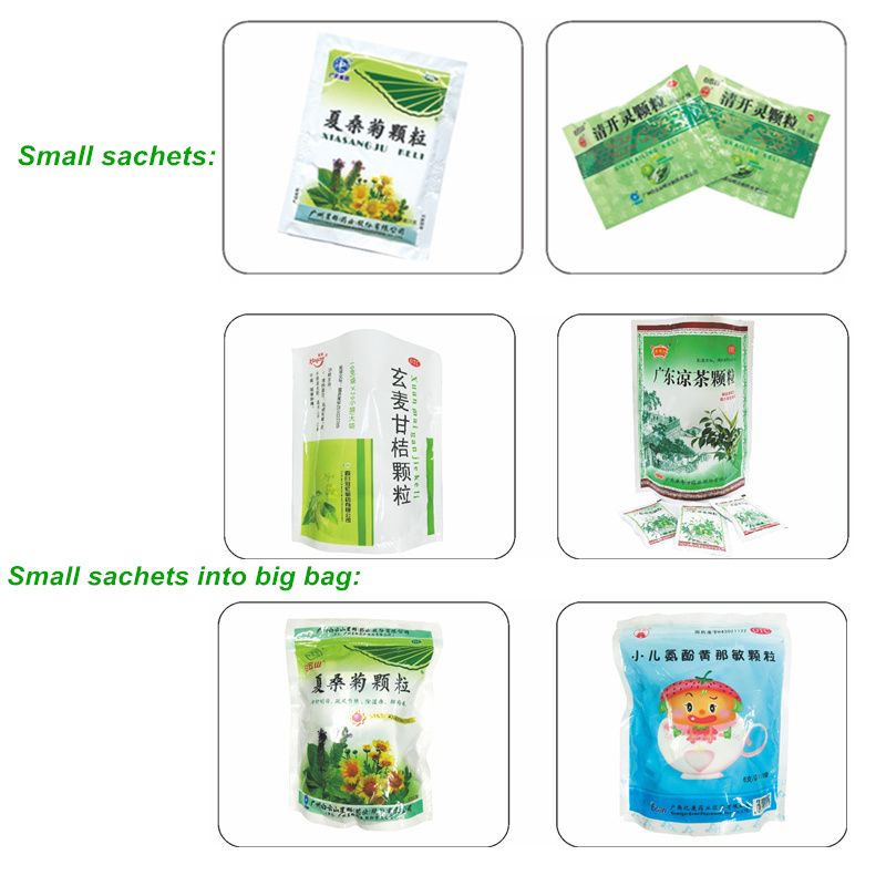 Small Sachets Into Big Bag High Speed Automatic Packing Machine Coffee Production Line Machinery Equipment