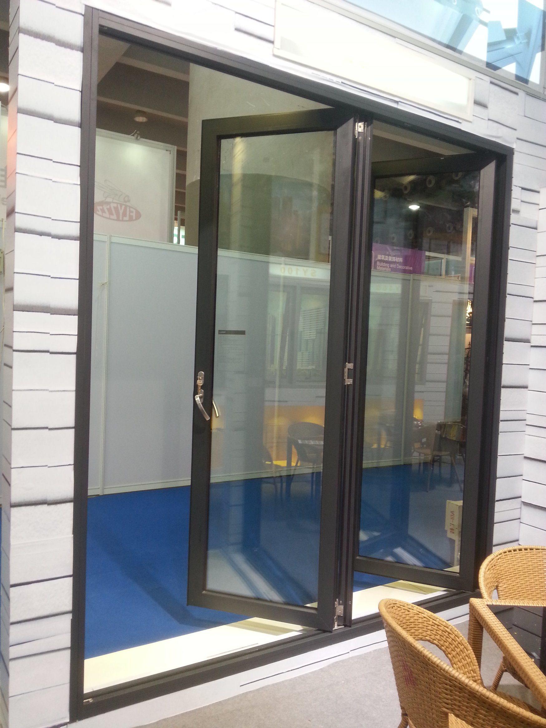 Aluminium Glass Bi Folding Doorfolding Window China Aluminium