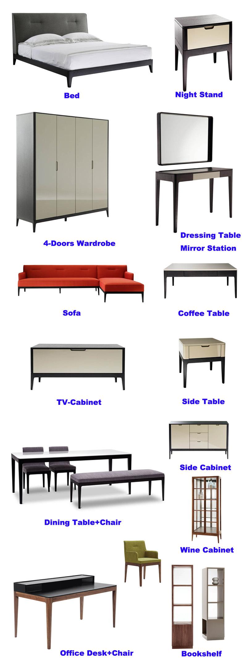 Mobiliario de casa moderna mesa de café en Muebles de Salón (HC-F58 ...