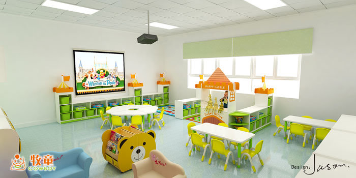 Los niños de guardería de muebles modernos para la venta al por ...