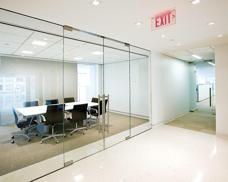 Mm mm mm de verre transparent trempé pour cloison de bureau