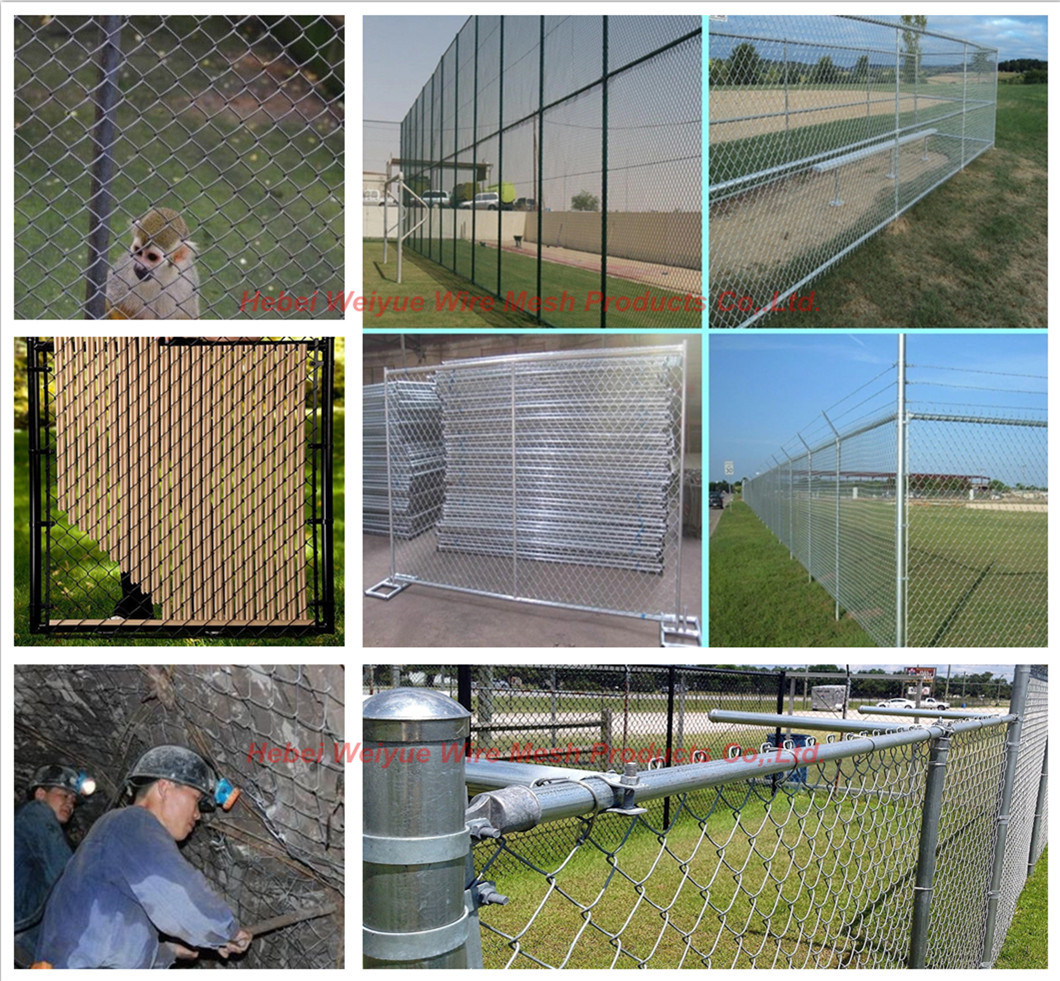 Stainless Steel Galvanized Wire Mesh Fence Privacy Fence - China ...