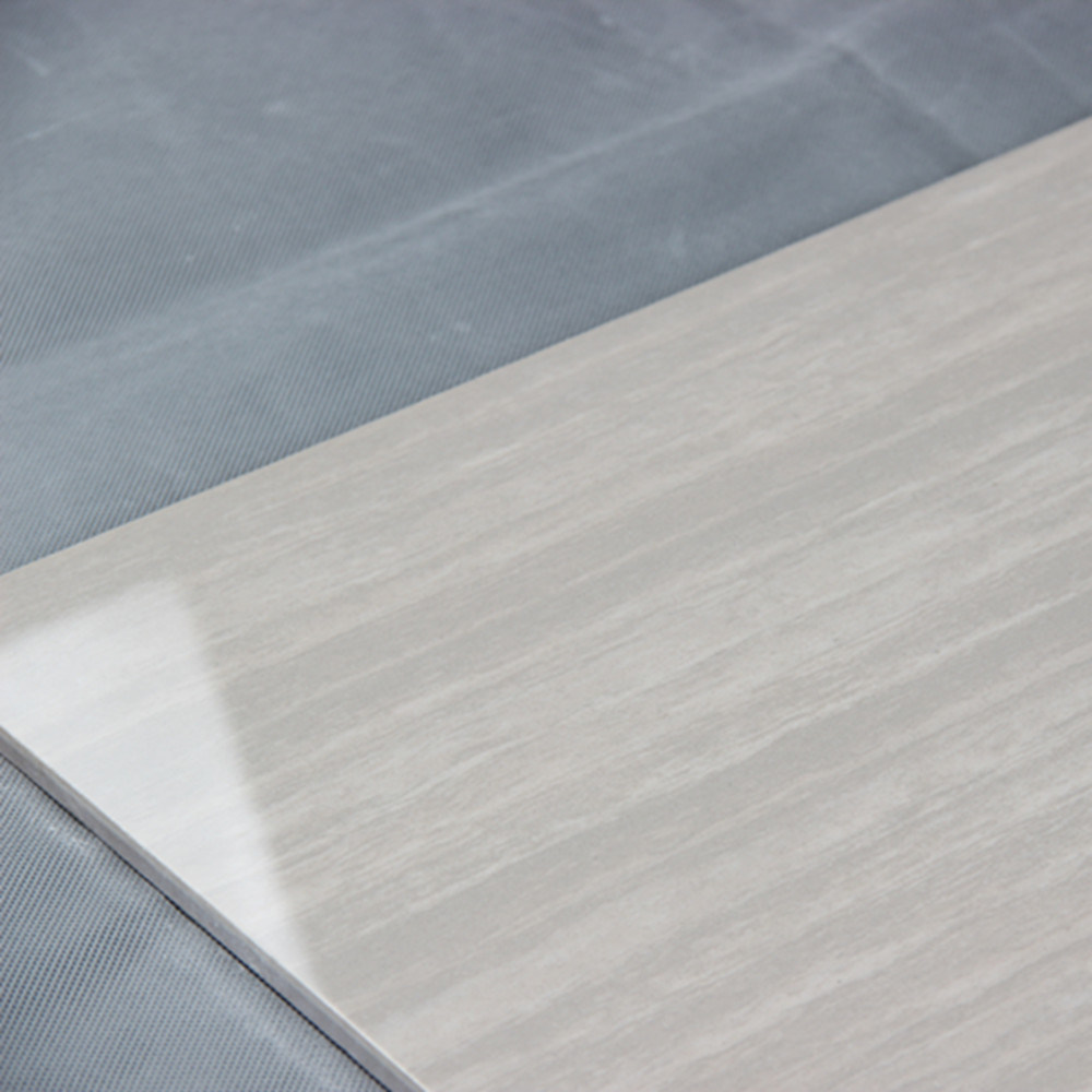 60x60 Linestone Design Glossy Surface Grey Polished Porcelain Floor