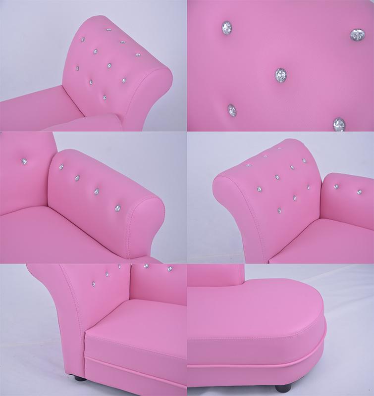 Los niños de PVC de color rosa bebé chaise lounge (SXBB-60-02) – Los ...