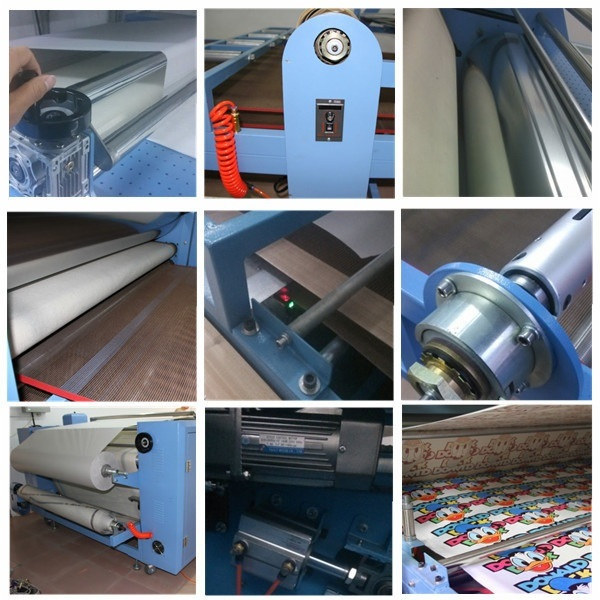 Economy Roll to Roll Heat Transfer Machine 420*1800 mm for Sublimation Printing