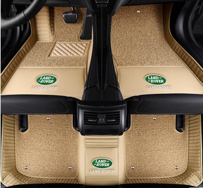 xpe antiglisse tapis voiture 5d en cuir pour land rover range rover sport vogue d couverte. Black Bedroom Furniture Sets. Home Design Ideas