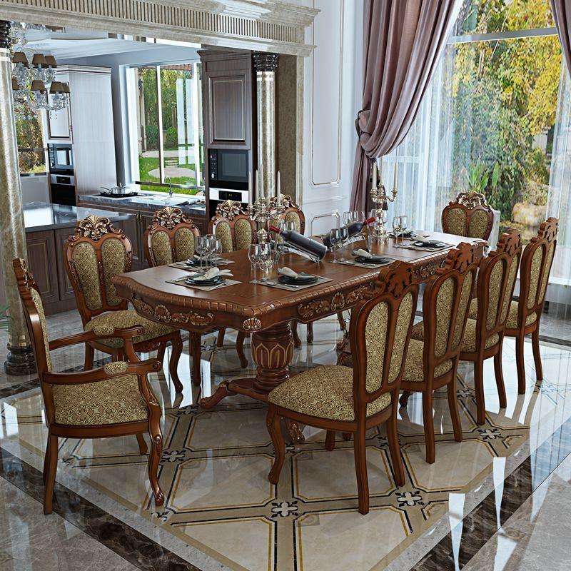 Tabella pranzante con la presidenza per la mobilia della for Mobilia domestica