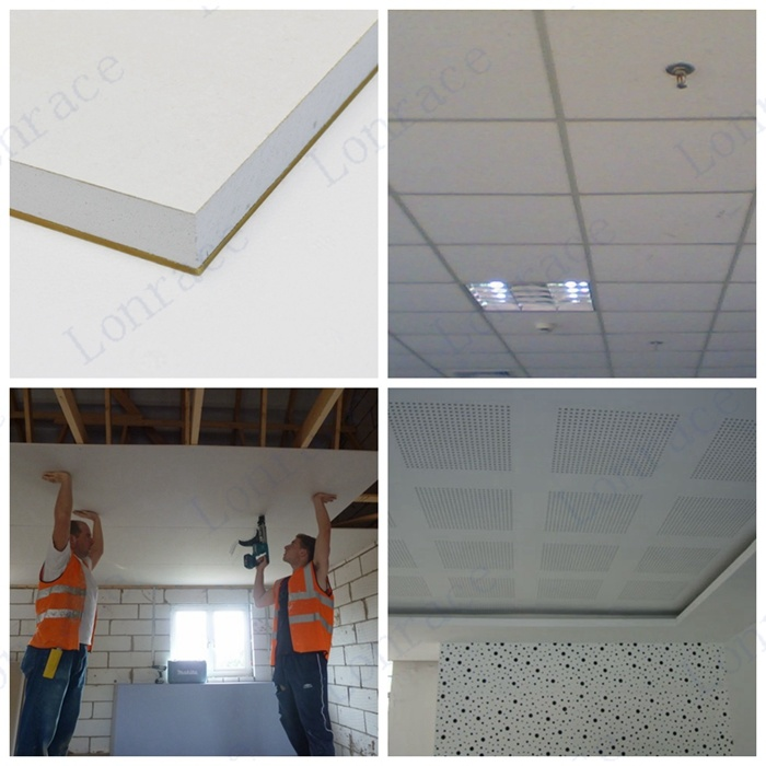 High Quality Gypsum Board Ceiling Tiles China Gypsum Board Ceiling