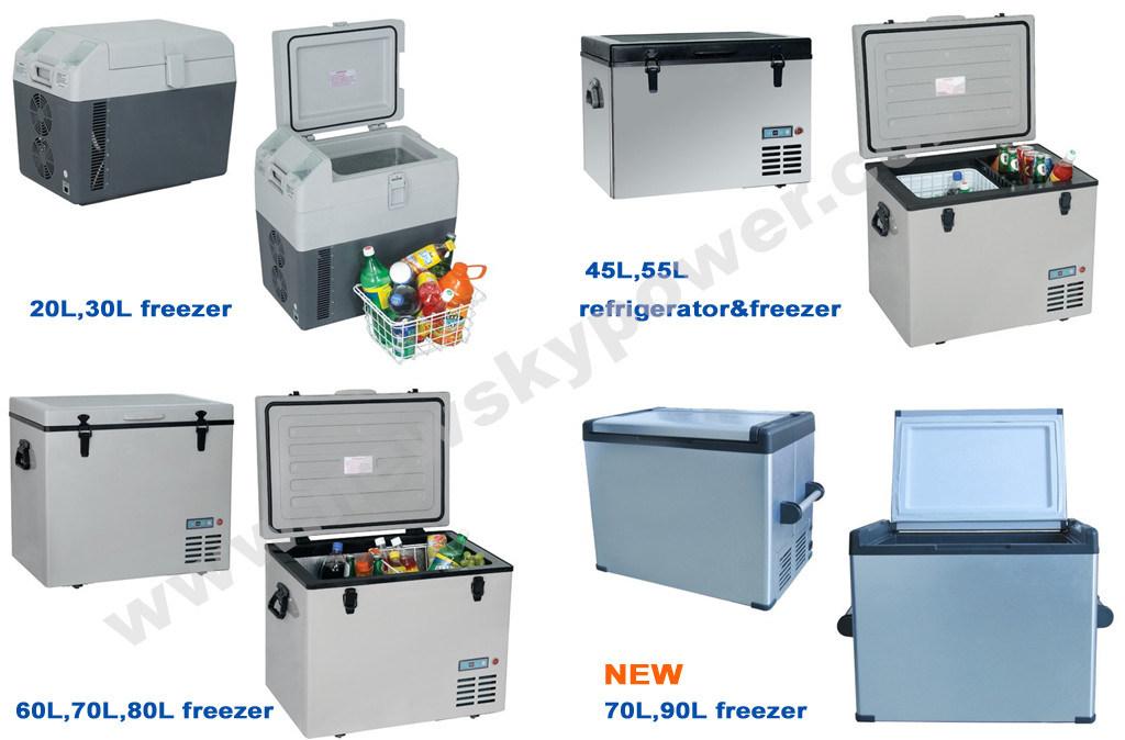 12V DC Deep Freezer Battery Powered Mini Fridge