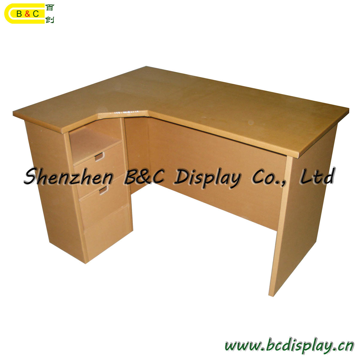 shipping cardboard chairigami desk lab free store