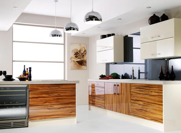 Arm rio de cozinha moderna a baixo pre o no atacado com for Budget kitchen cabinets ltd