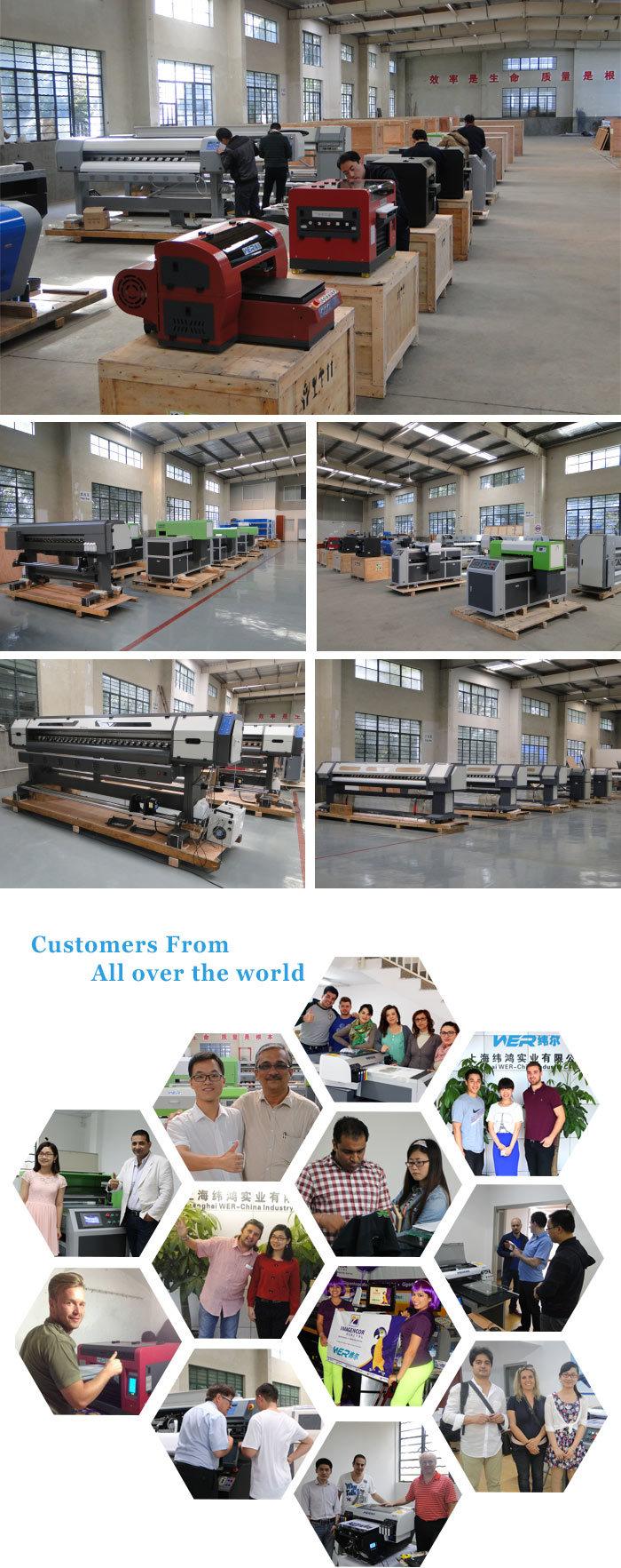 1.6m New Digital Indoor and Outdoor Inkjet Plotter Wer-Es1601