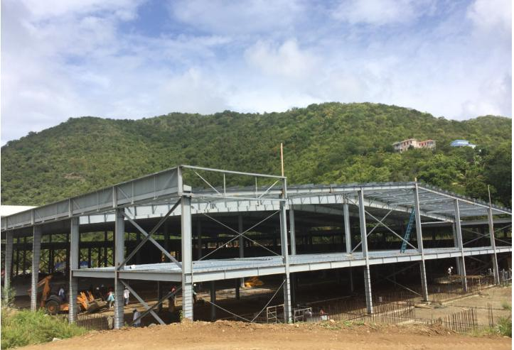 Prefabricated Steel Structure Project for Logistics Center