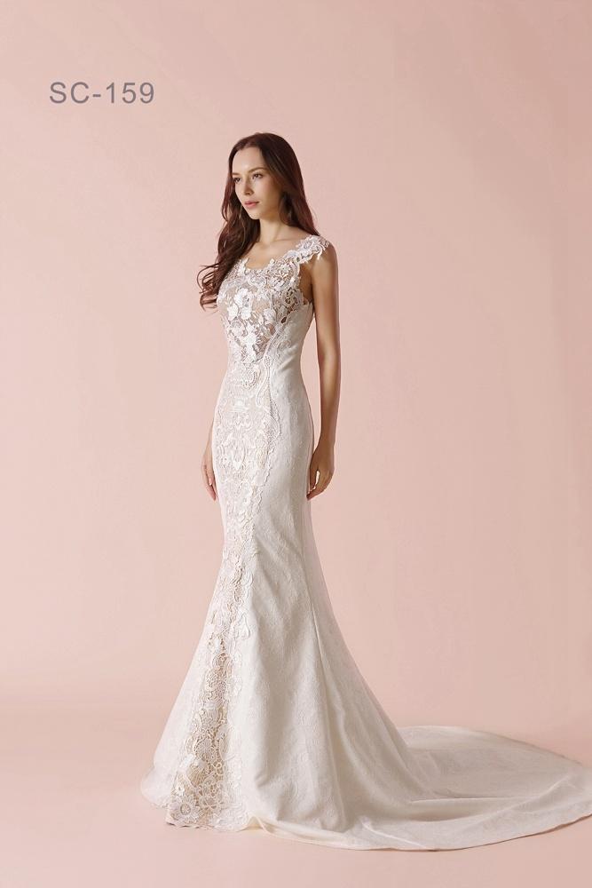 Encantador Modestos Vestidos De Novia Salt Lake City Colección de ...