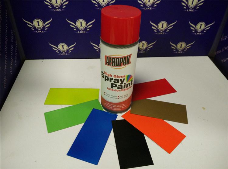 Aeropak Acrylic Resin Aerosol Spray Paint