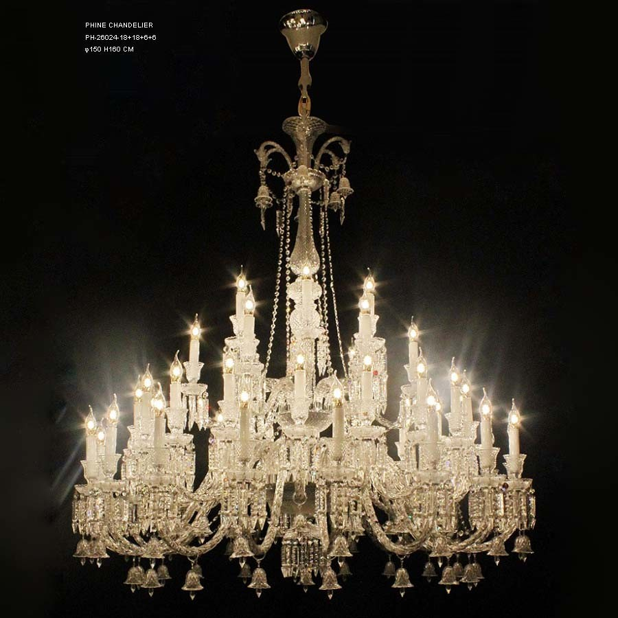 Baccarat style crystal chandelier lighting for home and hotel lamp factory brief introduction arubaitofo Choice Image
