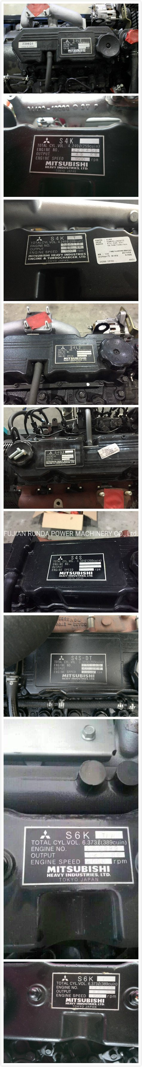 50Hz Mitsubishi Diesel Engine Original From Japan with Mecc Alte/Stamford/Leroy Somer Diesel Generator Set Powered by 10kVA-100kVA Genset