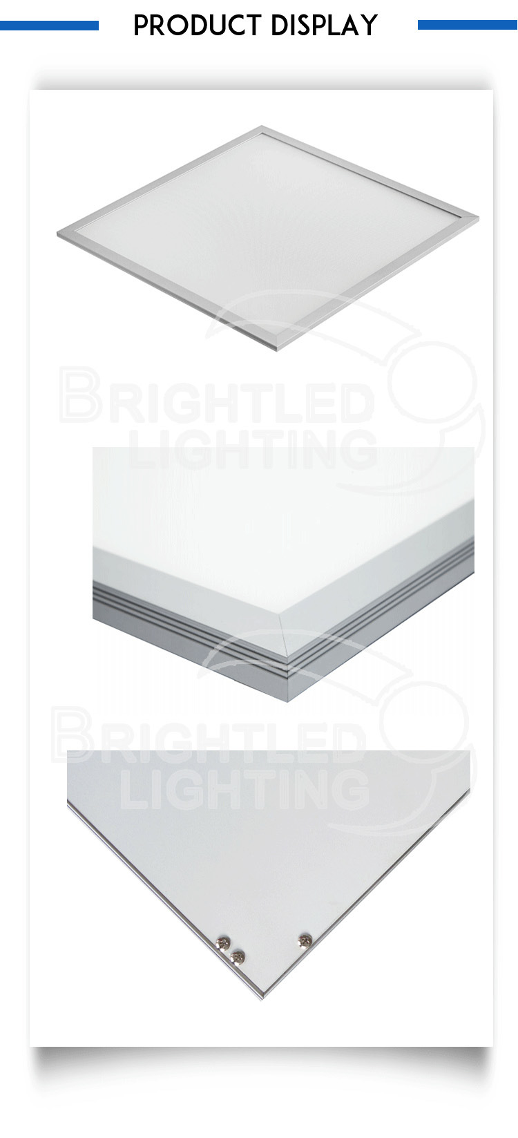 Super Bright 600*600mm LED Ceiling Down Panel Light