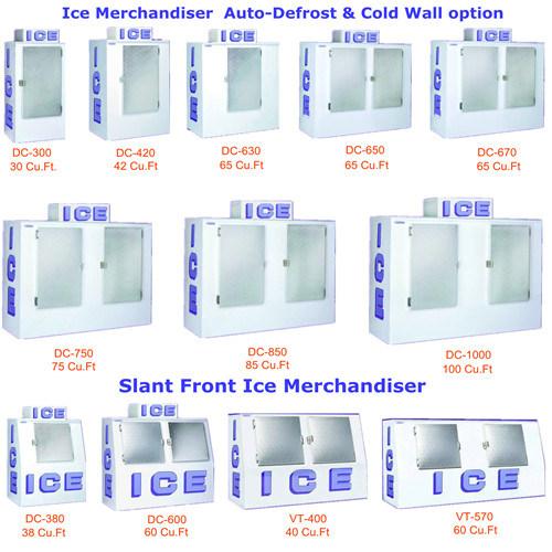Merchandiser di raffreddamento dc 420 del ghiaccio del for Ventilatore refrigerante