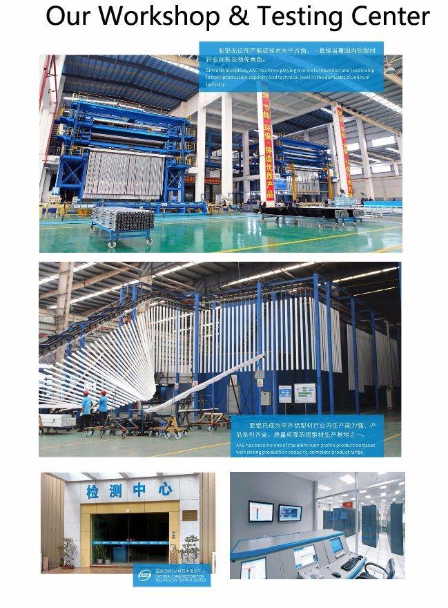 Aluminum/Aluminium Extrusion Profiles for Construction/Decoration/Industrial