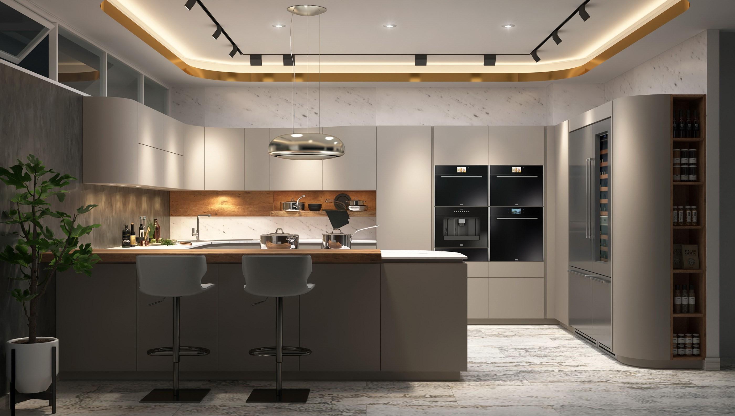 Customized Modern Style Acrylic Kitchen Cabinets China Kitchen Cabinets