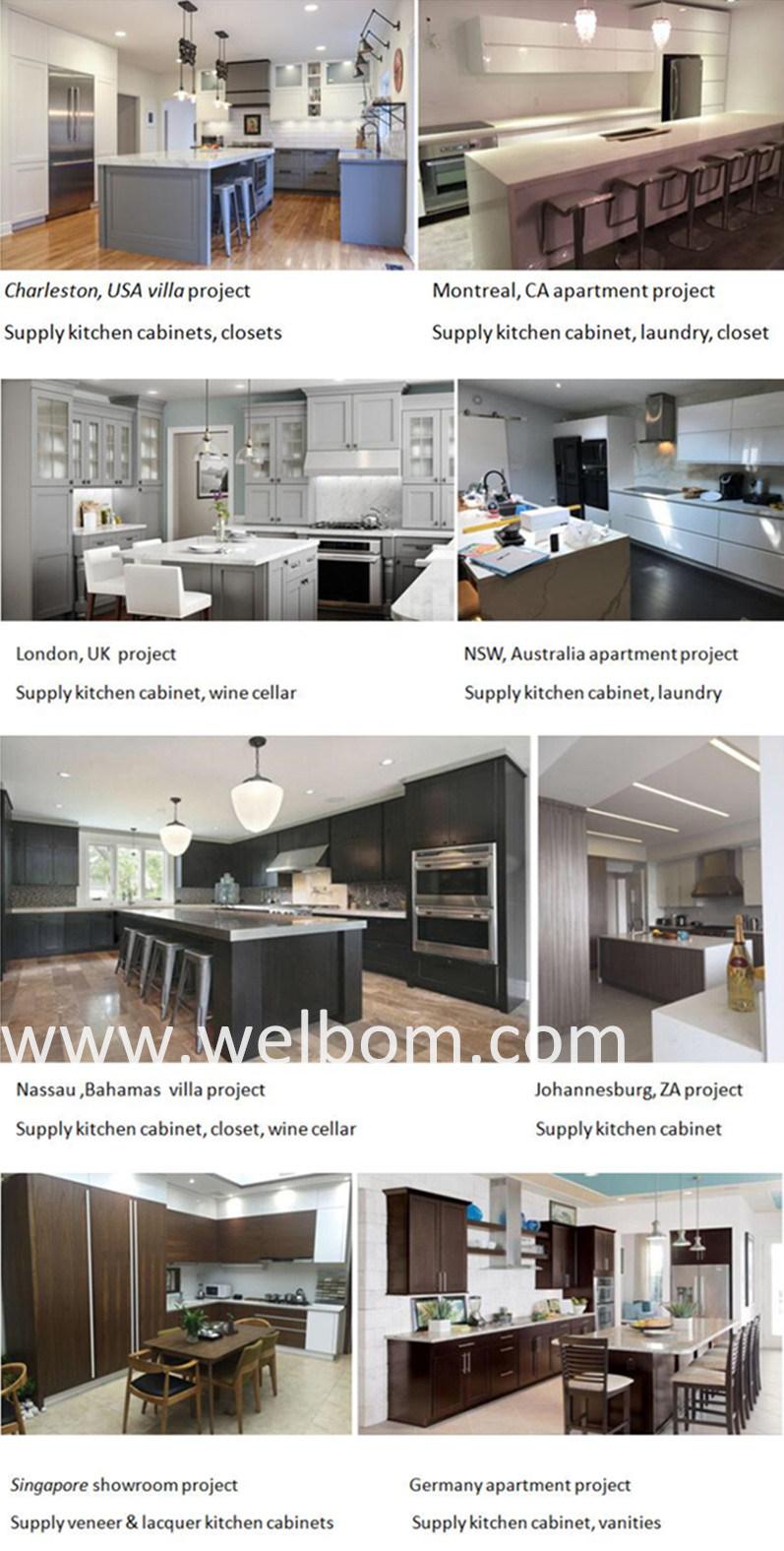 Blanco Welbom Modular de madera maciza Muebles de Cocina – Blanco ...
