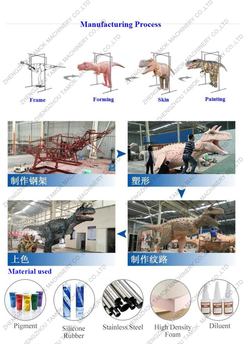 Realistic Raptor Walking Dinosaur Suit Animatronic Adult Robotic Wiring Diagram Drawing Frame Welding Motor Sensor Installing Anti Rust Processing Electrical Appliance Adjusting Backing Layingsponge Shape